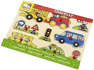Bino Europe- Puzzle, Transporte (88060)