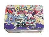 #7: SBS Pokemon Sun N Moon Series Evolution Metal Box Card Pack