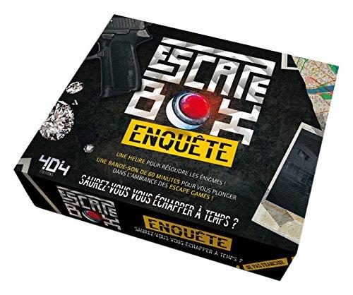 Escape game enquête | Dorne Frédéric. Auteur de l'animation