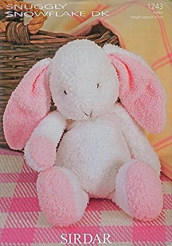Sirdar Knitting Pattern Fun Knit Flopsy the Bunny Rabbit Snuggly