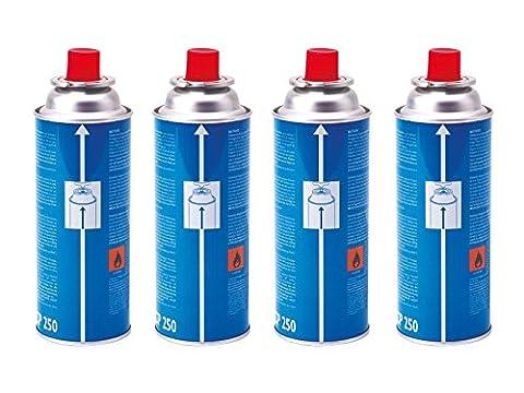 Campingaz cartouche de gaz CP250–Bleu, 4x 250g