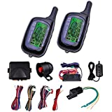 Vehicle Security Paging Car Alarm 2 Way LCD Remote Engine Start System Kit Auto by Yescom