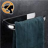 Wangel Handtuchring Handtuchhalter ohne Bohren, Patentierter Kleber + Klebestreifen, Edelstahl, Verchromt