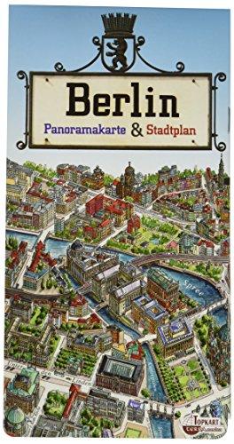 Berlin Panoramakarte & Stadtplan 1 : 17 000
