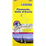 Piemonte and Vallee Aoste - Michelin Local map 351 (Michelin Regional Maps)