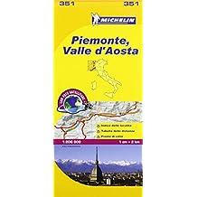 Piemonte and Vallee Aoste (Mapas Local Michelin)