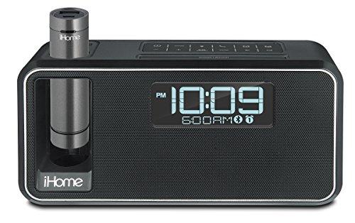 iHome Dual Charge Bluetooth NFC Stereo Wecker–Schwarz (Radiowecker Ihome)