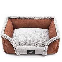 Cama ortopédica para perro, Suedette cama para perro, con base antideslizante impermeable, transpirable