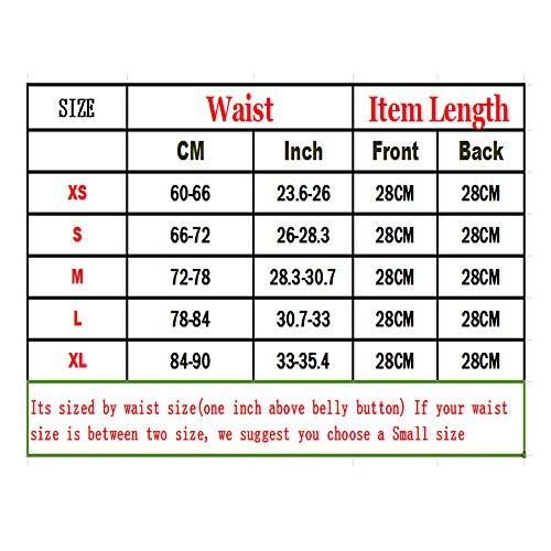 Kiwi-rata Plus Size Taillengürtel Waist Cincher Trainer Korsett Figurformer Belt Beige