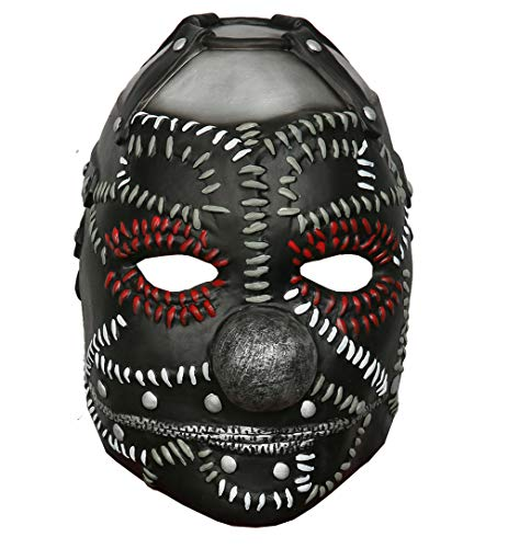 Mesky Clown Maske Slipknot Harlekin Mask Halloween Cosplay -