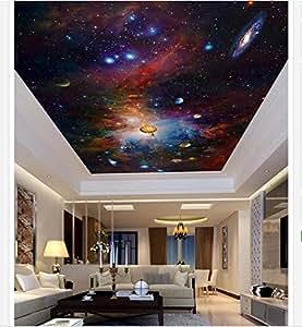 malilove 3d fototapete 3d decke tapeten wandmalereien bunte space star decke deckenfresken. Black Bedroom Furniture Sets. Home Design Ideas
