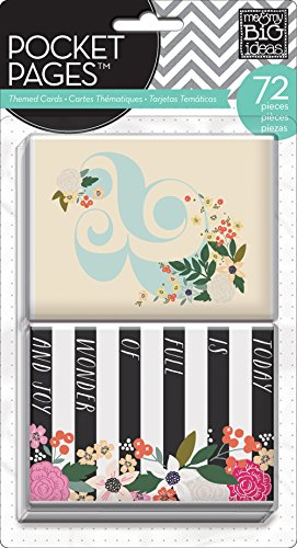 Unbekannt Me & My Big Ideas Me and My Big Ideas Pocket Seiten Themed Cards 7botanical Garden -
