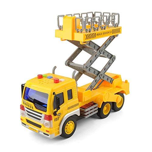 GizmoVine Coche Juguetes Autos para 2 Años 3 Años Niños Chicos,Temprana Educación Juguete Regalos para Pequeños Y Niño Navidad (Soltero Levante Camión)