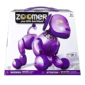 Zoomer Purple by Spin Master TOY (English Manual)