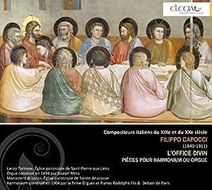 Capocci F. : L'office divin, pièces pour harmonium ou orgue. Cannizzaro.