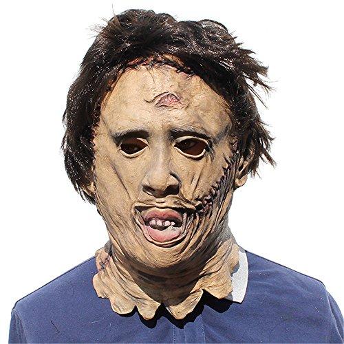 WYDM Halloween Horror Requisiten Party Cosplay Geburtstag Party Charakter Perücken Latex Maske.