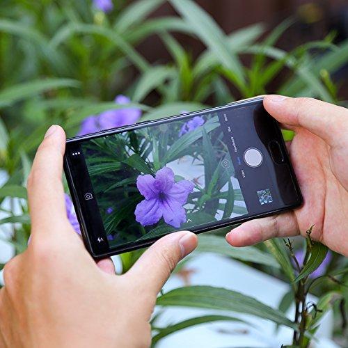 Doogee MIX 13,97 cm (5,5 Zoll) Smartphone (6GB RAM 64GB ROM Android 7.0 4G Helio P25 Octa-Kern 2,5 GHz Metallgehäuse Berührungssensor Front- und Doppel Rückkameras) Blau - 6