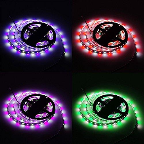 prezzo Strisce LED Luce 5m 5050SMD RGBW 300LEDs Striscia LED Kit completo
