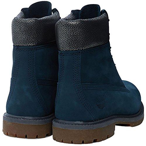 Timberland  6 in Premium FTB_6in Premium Boot - W, bottines classiques femme METALLIC|BLUE