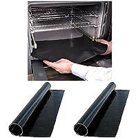 First4Spares 2 x Reusable Teflon Oven Cooking Liner Mat Non stick No mess PTFE Coated 40cm x 50cm