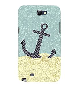 Anker Illustration 3D Hard Polycarbonate Designer Back Case Cover for Samsung Galaxy Note i9220 :: Samsung Galaxy Note 1 N7000