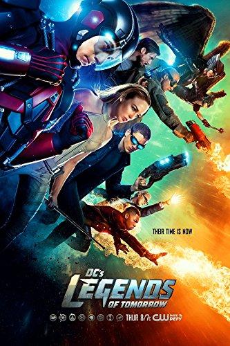 Infinite Arts DCs Legends of Tomorrow (24inch x 36inch/60cm x 90cm) Silk Print Poster - Silk Printing - 5DA6B9