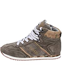 Enrico Coveri Sneaker Bambino Pelle Scamosciata Beige 42b7bde6fdf