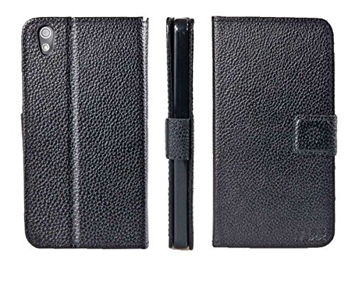 caseroxx Hülle/Tasche Bookstyle-Case Medion Life X5004 MD 99238 Handy-Tasche, Wallet-Case Klapptasche in schwarz