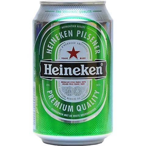 Heineken Bier 24x0,33 ltr. Dose Inkl. Pfand