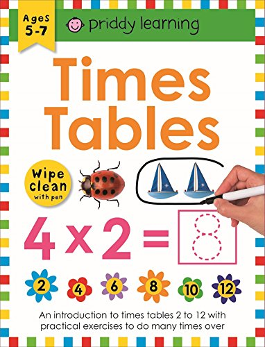 Times Tables: Wipe Clean Workbooks
