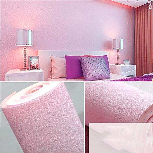 HQYXGS Einfache Tapete pink, dunkelblau Seide beige Farbe PVC Wasserdicht Wallpaper-C 1000 x 394 x 53 cm (21 Zoll) -