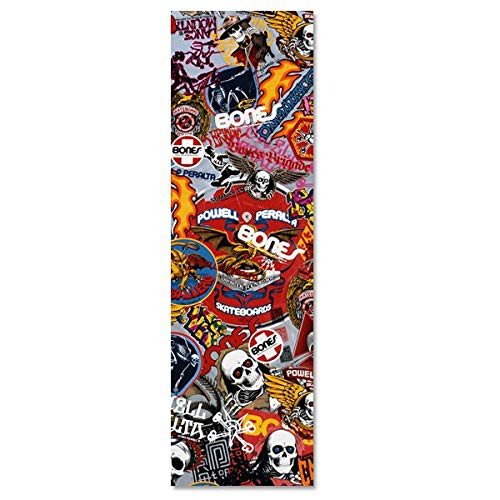 Powell Peralta Skateboard Grip Tape OG Stickers 9.0'' Griptape