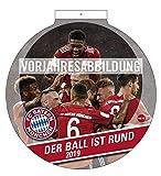 FC Bayern München Der Ball ist rund 2020 29x29cm