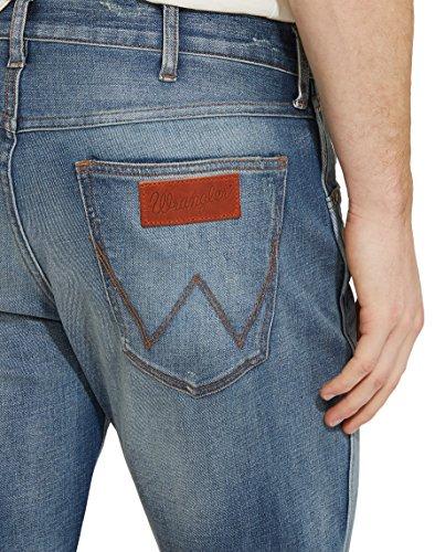 Wrangler Herren Jeans, Greensboro Freewheelin Blau (Mid Glory 6G)
