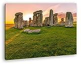 deyoli Steines des Stonehenge bei Sonnenaufgang Format: