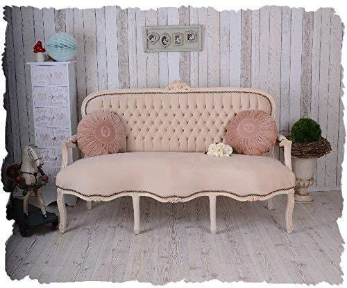 Gigantisches Rokoko Sofa, Diwan, Kanapee, Ottomane, Liege -Marie Antoinette - mit königlichem...