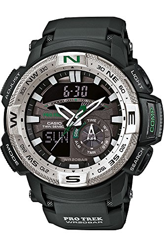 Casio Herren-Armbanduhr Protrek Digital Quarz Resin PRG-280-1ER