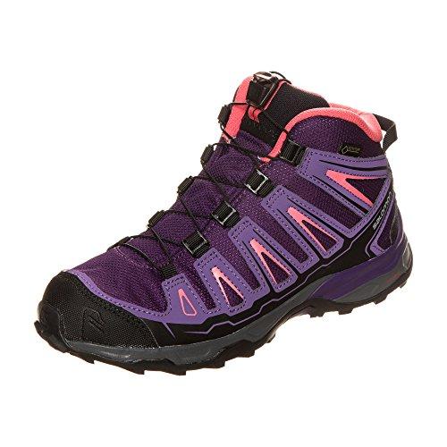 Salomon ,  Scarpe da camminata ed escursionismo ragazzo cosmic purple-rain-purple-madder pink
