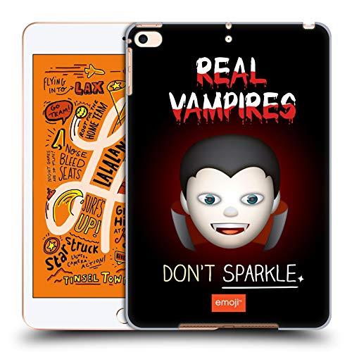 Head Case Designs Offizielle Emoji® Echte Vampire Halloween Parodien Harte Rueckseiten Huelle kompatibel mit iPad Mini (2019)