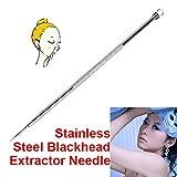 Reixus(TM) Edelstahl Mitesser Extractor Nadel Pickel Verunstaltung-Akne-Remover-Nadel-Gesicht Skin Care Sch?nheit Werkzeug