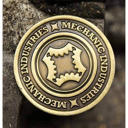 Solomagia half dollar coin (bronze) by mechanic industries - magia con monete - giochi di magia e prestigio