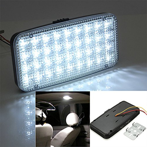 Preisvergleich Produktbild Yongse 12V 36 LED Auto Van Fahrzeug Deckenhaube Dach Innenbeleuchtung Weiß Lampe DC
