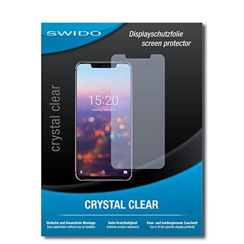 SWIDO Schutzfolie für UMIDIGI Z2 Pro [2 Stück] Kristall-Klar, Hoher Härtegrad, Schutz vor Öl, Staub & Kratzer/Glasfolie, Bildschirmschutz, Bildschirmschutzfolie, Panzerglas-Folie
