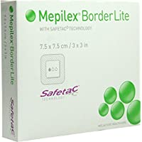 MEPILEX Border Lite Schaumverb.7,5x7,5 cm steril 5 St Verband preisvergleich bei billige-tabletten.eu