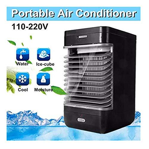 Raffreddatore d aria fredda ad acqua-TianranRT♕ Ventilatore da scrivania Ventilatore da tavolo Ventilatore da tavolo Ventilatore d'aria silenzioso Casa intelligente,bianca