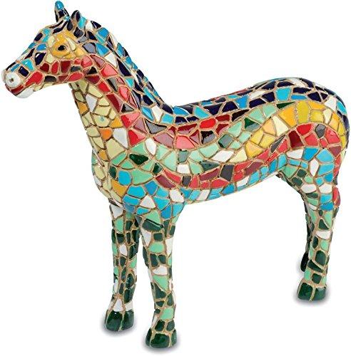 Horse Figurine Mosaic–10.9cm