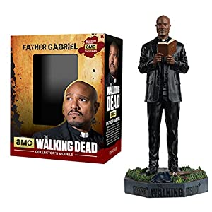 Figura de plomo y resina The Walking Dead Collector's Models Nº 11 Father Gabriel 12