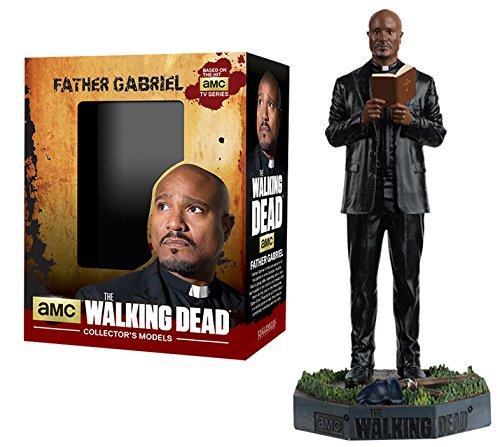 Figura de plomo y resina The Walking Dead Collector's Models Nº 11 Father Gabriel 1