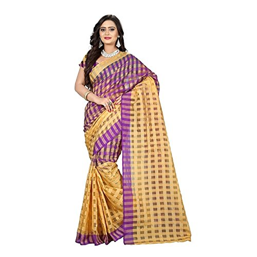 saree (Women\'s Clothing Saree For Women Latest Design Wear Sarees Collection in Cottan Material Latest Saree With Designer Blouse Free Size Beautiful Bollywood Saree For Women Party Wear Offer Design