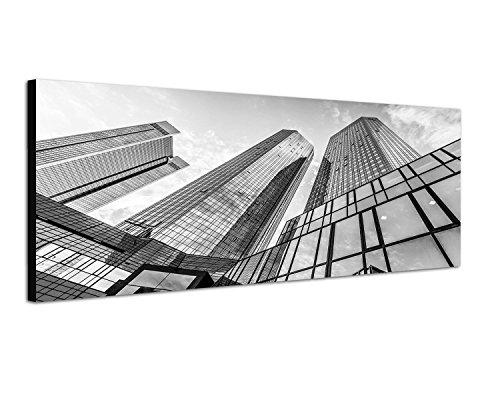 telaio-immagine-panorama-immagine-nero-bianco-150-x-50-cm-frankfurt-am-main-deutsche-bank-edificio